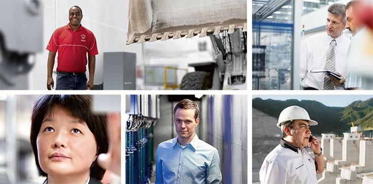 Bosch Rexroth Hakkında - Pazar Segmentleri